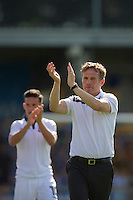 Bolton Wanderers manager Phil Parkinson applauds the away fans at full time<br /> <br /> Photographer Craig Mercer/CameraSport<br /> <br /> Football - The EFL Sky Bet League One - AFC Wimbledon v Bolton Wanderers - Saturday 13th August 2016 - The Cherry Red Records Stadium - London<br /> <br /> World Copyright © 2016 CameraSport. All rights reserved. 43 Linden Ave. Countesthorpe. Leicester. England. LE8 5PG - Tel: +44 (0) 116 277 4147 - admin@camerasport.com - www.camerasport.com