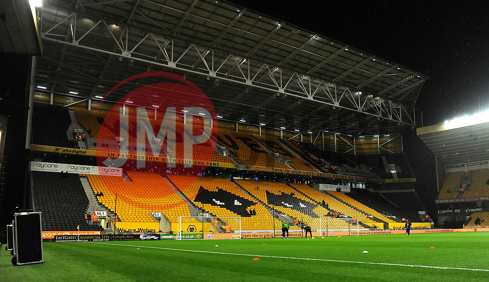 General views of the Molineux stadium -Mandatory by-line: Nizaam Jones/JMP - 02/01/2018 - FOOTBALL - Molineux - Wolverhampton, England- Wolverhampton Wanderers v Brentford -Sky Bet Championship