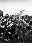 Matinee at Chipperfield's Circus - Radio Rogers visits.03/08/56..Chipperfield's Circus was the name of a famous British family circus. The show toured Europe and the Far East. The dynasty goes back more than 300 years, making it one of the older family circus dynasties