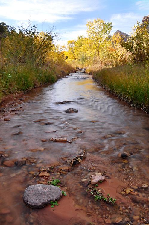 Pleasant Creek, Capital Reef National Park, Utah.