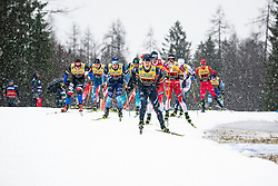 Davide Graz (ITA) during the man team sprint race at FIS Cross Country World Cup Planica 2019, on December 22, 2019 at Planica, Slovenia. Photo By Peter Podobnik / Sportida