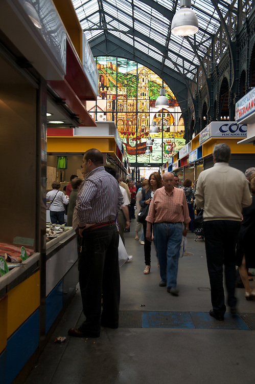 El Carligto, Andalucia, Spain Fish Market, Malaga, Spain