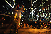 Ambiance at the South Street Seaport in Manhattan, NY. 7/23/2006 Photo by Jennifer S. Altman