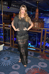 AMY WILLERTON at the Chain of Hope Gala Ball held at The Grosvenor House Hotel, Park Lane, London on 18th November 2016.