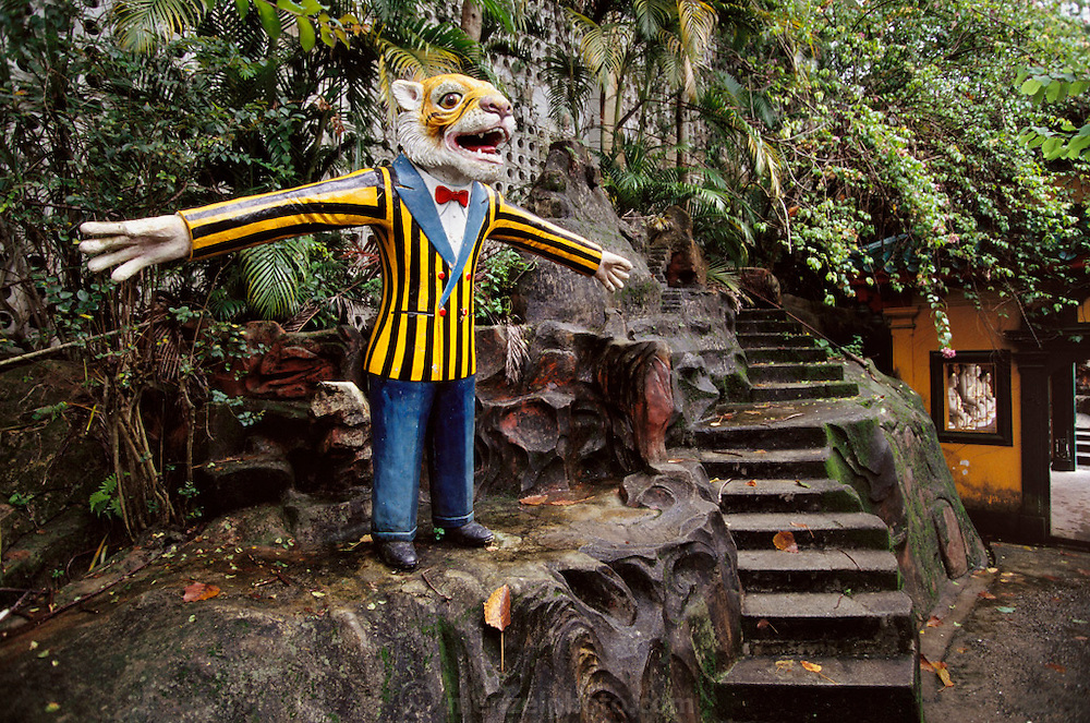 The Tiger Balm gardens developed by wealthy businessman Aw Boon Haw. Hong Kong, China.