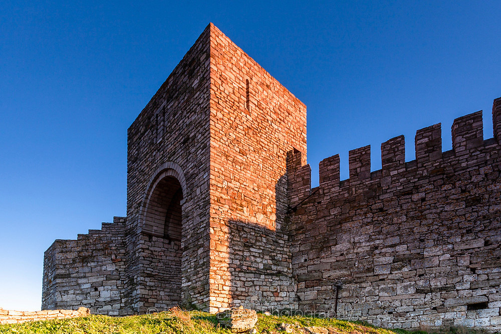 The gate of Kaliakra fortress