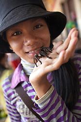 Tarantula snack!