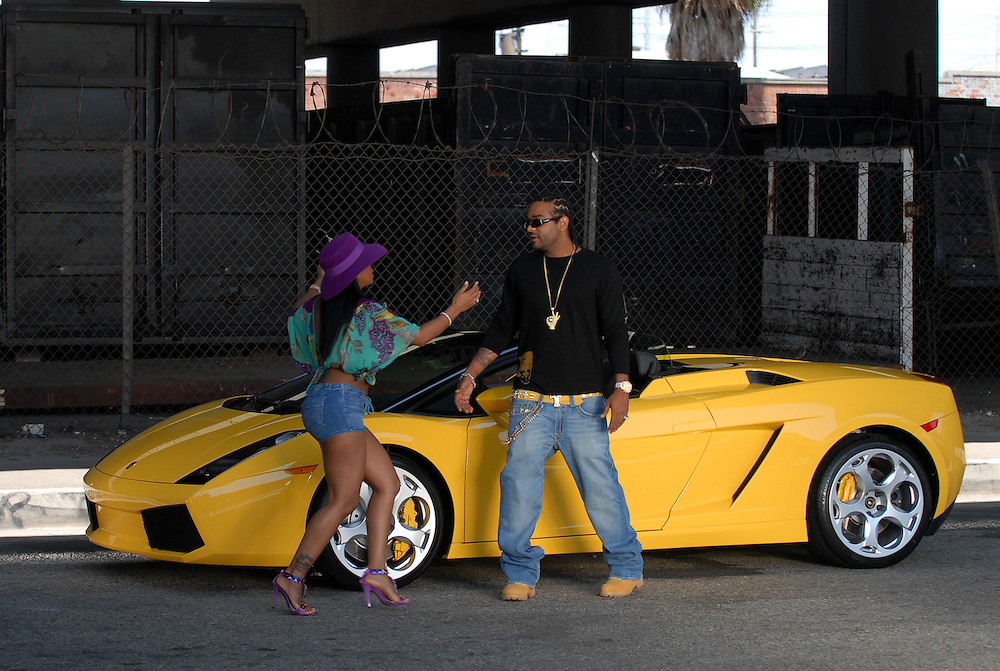 """Hasain Rasheed Photography.Jim Jones Video Shoot for """"Reppin Time"""" and """"We Fly High"""" August 2006."""