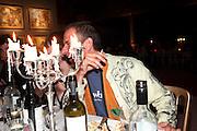 GIGI GIANLUZZI, Private viewing of ' The Rake's Progress' in plasticine by Henry Hudson. 4a Roach Rd. London E3. <br /> <br />  , -DO NOT ARCHIVE-© Copyright Photograph by Dafydd Jones. 248 Clapham Rd. London SW9 0PZ. Tel 0207 820 0771. www.dafjones.com.