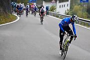 Foto Fabio Ferrari/LaPresse <br /> 22 ottobre 2020 Italia<br /> Sport Ciclismo<br /> Giro d'Italia 2020 - edizione 103 - Tappa 18 - Da<br /> Pinzolo a Laghi di Cancano (Parco Nazionale Stelvio)<br /> (km 207)<br /> Nella foto: durante la gara - GUERREIRO Ruben EF PRO CYCLING<br /> <br /> Photo Fabio Ferrari/LaPresse<br /> October 22, 2020  Italy  <br /> Sport Cycling<br /> Giro d'Italia 2020 - 103th edition - Stage 18 - From<br /> Pinzolo to Laghi di Cancano (Parco Nazionale Stelvio)<br /> In the pic: during the race - GUERREIRO Ruben EF PRO CYCLING