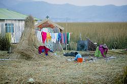 Uros People Floating Island