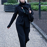 NLD/Amsterdam/20111221 - Uitvaart Olga Madsen, Jette van de Meij