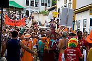 Tiradentes_MG, Brasil...Carnaval em Tiradentes. ..The carnival in Tiradentes. ..Foto: LEO DRUMOND / NITRO
