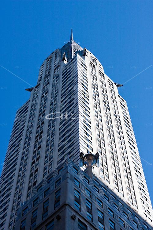 Chrysler Building skyscraper in New york City in October 2008