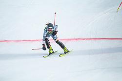 Kaja Norbye (NOR) during second run at the Ladies' Slalom at 56th Golden Fox event at Audi FIS Ski World Cup 2019/20, on February 16, 2020 in Podkoren, Kranjska Gora, Slovenia. Photo by Matic Ritonja / Sportida