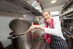 Edinburgh mum Nichola Pearce at the Boardwalk Beach Club, Cramond. She was the private chef to Star Trek actors Chris Pine and Idris Elba in Dubai for the filming of the recent Star Trek film.