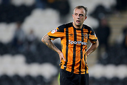 Hull City's Kamil Grosicki after the defeat