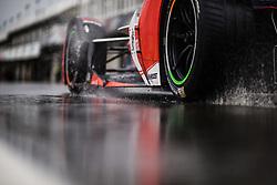 October 19, 2018 - Valencia, Spain - MAHINDRA RACING Team during the Formula E official pre-season test at Circuit Ricardo Tormo in Valencia on October 16, 17, 18 and 19, 2018. (Credit Image: © Xavier Bonilla/NurPhoto via ZUMA Press)
