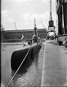 "Dutch Submarine ""Zeeleeuw"" visits Dublin Port..25.08.1960"