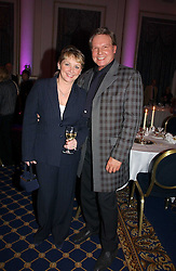 CHERYL BAKER and JESS CONRAD at a reception to launch Angel themed Christmas Cards and view an exhibition of the original art work by Gordon King with proceeds going to the Caron Keating Foundation  held at the Langham Hotel, Portland Place, London on 20th November 2006.<br />