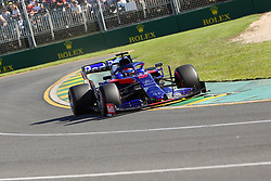 March 15, 2019 - DANIIL KVYAT during Friday Practice at the Australian Formula 1 Grand Prix in Melbourne on March 15, 2019  (Credit Image: © Christopher Khoury/Australian Press Agency via ZUMA  Wire)