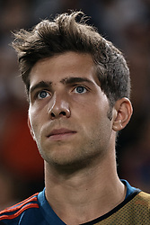 September 11, 2018 - Elche, Alicante, Spain - Sergi Roberto of Spain looks on prior to the during the UEFA Nations League A group four match between Spain and Croatia at Manuel Martinez Valero on September 11, 2018 in Elche, Spain  (Credit Image: © David Aliaga/NurPhoto/ZUMA Press)