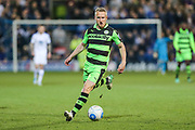 Forest Green Rovers Marcus Kelly(10) runs forward during the Vanarama National League match between Tranmere Rovers and Forest Green Rovers at Prenton Park, Birkenhead, England on 11 April 2017. Photo by Shane Healey.