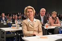 09 DEC 2014, KOELN/GERMANY:<br /> Ursula von der Leyen, CDU, Bundesverteidigungsministerin, wartet in den Reihen der Delegierten auf ihren Redeeinsatz, CDU Bundesparteitag, Messe Koeln<br /> IMAGE: 20141209-01-108<br /> KEYWORDS: Party Congress