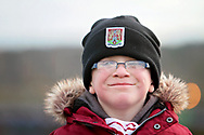 A young northampton Town fan before the EFL Sky Bet League 1 match between Northampton Town and Bury at Sixfields Stadium, Northampton, England on 25 November 2017. Photo by Nigel Cole.