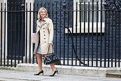 © Licensed to London News Pictures. 29/03/2017. London, UK. Education Secretary JUSTINE GREENING attends a cabinet meeting in Downing Street, London on Wednesday, 29 March 2017 as Prime Minister Theresa May triggers article 50 and starts Britain's departure from the European Union. Photo credit: Tolga Akmen/LNP