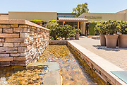 Water Feature Outside Mission Viejo Library