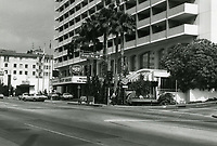 1973 Continental Hyatt Hotel on Sunset Blvd.