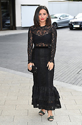 Georgia May Foote arriving at the WellChild Awards, The Royal Lancaster Hotel, London