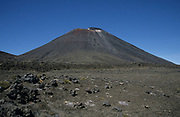 Ngauruhoe, Mount Tongariro, New Zealand, Volcano, blue sky, active stratovolcano, youngest vent, highest peak in the Tongariro volcanic complex, Central Plateau of the North Island