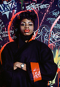 Linda Tolbert Black, Fashion Show, Danceteria Nightclub, New York City, New York, USA, January1985