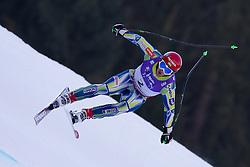 12.02.2011, Kandahar, Garmisch Partenkirchen, GER, FIS Alpin Ski WM 2011, GAP, Herren Abfahrt, im Bild Rok Perko (SLO) takes to the air competing in the men's downhill race on the Kandahar race piste at the 2011 Alpine skiing World Championships, EXPA Pictures © 2010, PhotoCredit: EXPA/ M. Gunn