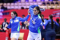 Ana Abina during the EHF Euro 2020 Group A match between Montenegro and Slovenia in Jyske Bank Boxen, Herning, Denmark on December 8, 2020. Photo Credit: Allan Jensen/EVENTMEDIA.