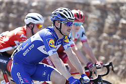 January 18, 2018 - Glenelg, AUSTRALIA - Belgian Dries Devenys of Quick-Step Floors pictured in action during stage 3 of the Tour Down Under cycling race, 120,5km from Glenelg to Victor Harbor, Thursday 18 January 2018 in Australia. The stage is shortened because of the extreme temperatures that are expected in Western Australia on Thursday. This years edition of the race is taking place from January 16th to January 21st...BELGA PHOTO YUZURU SUNADA. (Credit Image: © Yuzuru Sunada/Belga via ZUMA Press)