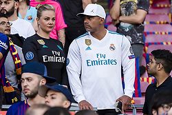 May 6, 2018 - Barcelona, Catalonia, Spain - Real Madrid fans during the match between FC Barcelona v Real Madrid, for the round 36 of the Liga Santander, played at Camp nou  on 6th May 2018 in Barcelona, Spain. (Credit Image: © Urbanandsport/NurPhoto via ZUMA Press)
