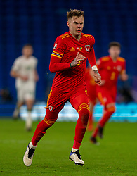 CARDIFF, WALES - Sunday, November 15, 2020: Wales' Joe Rodon during the UEFA Nations League Group Stage League B Group 4 match between Wales and Republic of Ireland at the Cardiff City Stadium. Wales won 1-0. (Pic by David Rawcliffe/Propaganda)