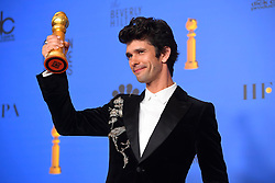 January 6, 2019 - Los Angeles, California, U.S. - Ben Whishaw in the Press Room during the 76th Annual Golden Globe Awards at The Beverly Hilton Hotel. (Credit Image: © Kevin Sullivan via ZUMA Wire)