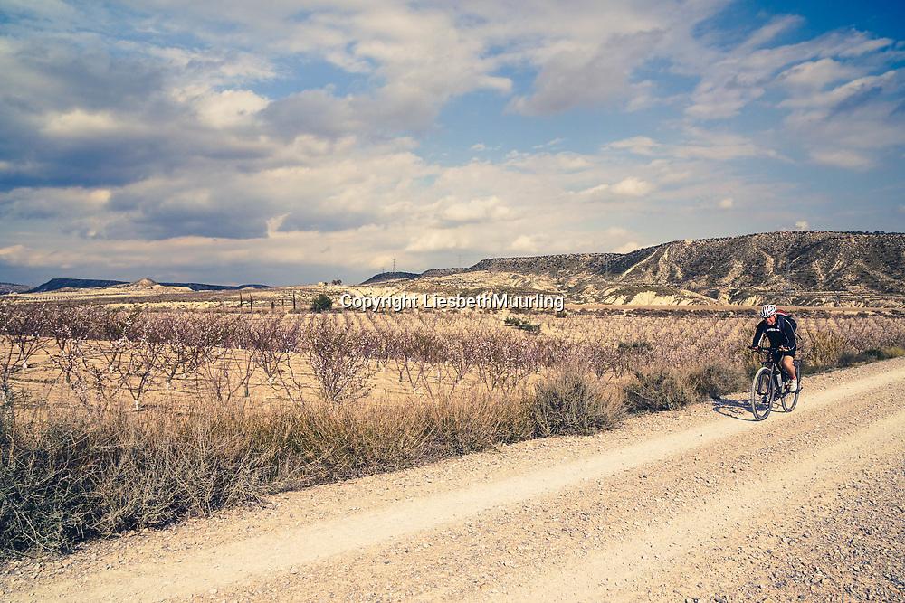 Cycling on the Via verde Murcia