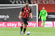 Cameron Carter-Vickers (18) of AFC Bournemouth during the EFL Sky Bet Championship match between Bournemouth and Stoke City at the Vitality Stadium, Bournemouth, England on 8 May 2021.