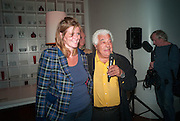 ANNA LOUISE NAYLOR-LEYLAND;; ANTONIO CARLUCCIO, Launch party for the publication of Antonio Carluccio's memoirs, A Recipe for Life, . Carluccio's in Covent Garden Garrick St. London.  26 September 2012