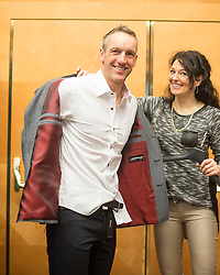 28.01.2014,  Marriott, Wien, AUT, Sochi 2014, Einkleidung OeOC, im Bild during the outfitting of the Austrian National Olympic Committee for Sochi 2014 at the  Marriott in Vienna, Austria on 2014/01/28. EXPA Pictures © 2014, PhotoCredit: EXPA/ JFK