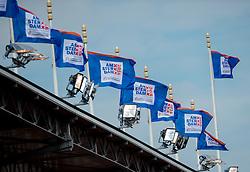 07-07-2016 NED: European Athletics Championships, Amsterdam<br /> Vlagen, item, aankleding Olympisch Stadion