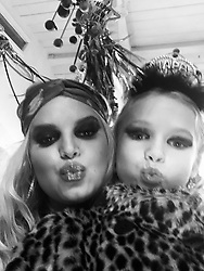 """Jessica Simpson releases a photo on Twitter with the following caption: """"""""🎉 Happy New Year! 🎉"""""""". Photo Credit: Twitter *** No USA Distribution *** For Editorial Use Only *** Not to be Published in Books or Photo Books ***  Please note: Fees charged by the agency are for the agency's services only, and do not, nor are they intended to, convey to the user any ownership of Copyright or License in the material. The agency does not claim any ownership including but not limited to Copyright or License in the attached material. By publishing this material you expressly agree to indemnify and to hold the agency and its directors, shareholders and employees harmless from any loss, claims, damages, demands, expenses (including legal fees), or any causes of action or allegation against the agency arising out of or connected in any way with publication of the material."""