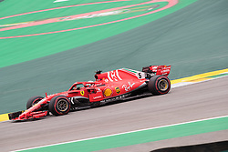 November 10, 2018 - Sao Paulo, Sao Paulo, Brazil - SEBASTIAN VETTEL, of Scuderia Ferrari , during the free practice session for the Formula One Grand Prix of Brazil at Interlagos circuit, in Sao Paulo, Brazil. The grand prix will be celebrated next Sunday, November 11. (Credit Image: © Paulo LopesZUMA Wire)