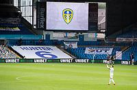 Leeds United's Ezgjan Alioski applauds the empty seats after the match <br /> <br /> Photographer Alex Dodd/CameraSport<br /> <br /> The EFL Sky Bet Championship - Leeds United v Fulham - Wednesday 24th June 2020 - Elland Road - Leeds<br /> <br /> World Copyright © 2020 CameraSport. All rights reserved. 43 Linden Ave. Countesthorpe. Leicester. England. LE8 5PG - Tel: +44 (0) 116 277 4147 - admin@camerasport.com - www.camerasport.com<br /> <br /> Photographer Alex Dodd/CameraSport<br /> <br /> The Premier League - Newcastle United v Aston Villa - Wednesday 24th June 2020 - St James' Park - Newcastle <br /> <br /> World Copyright © 2020 CameraSport. All rights reserved. 43 Linden Ave. Countesthorpe. Leicester. England. LE8 5PG - Tel: +44 (0) 116 277 4147 - admin@camerasport.com - www.camerasport.com