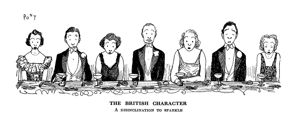 The British Character. A disinclination to sparkle